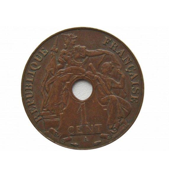 Французский Индокитай 1 цент 1938 г.