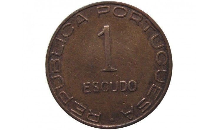 Мозамбик 1 эскудо 1945 г.