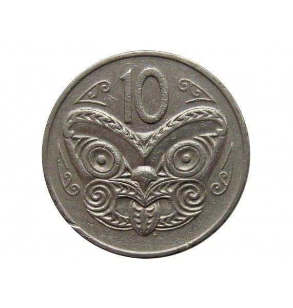 Новая Зеландия 10 центов 1980 г.