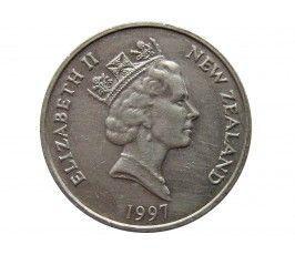 Новая Зеландия 10 центов 1997 г.