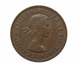 Новая Зеландия 1/2 пенни 1958 г.