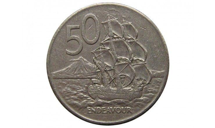 Новая Зеландия 50 центов 1981 г.