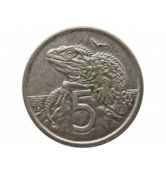 Новая Зеландия 5 центов 1995 г.