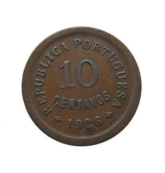 Португалия 10 сентаво 1926 г.