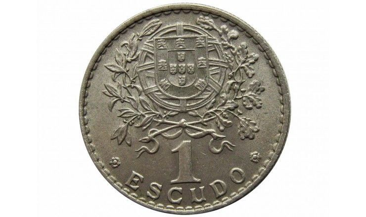 Португалия 1 эскудо 1965 г.