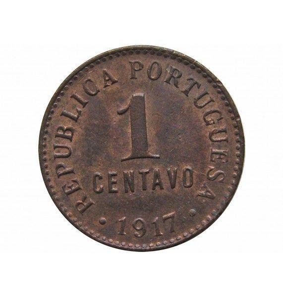 Португалия 1 сентаво 1917 г.