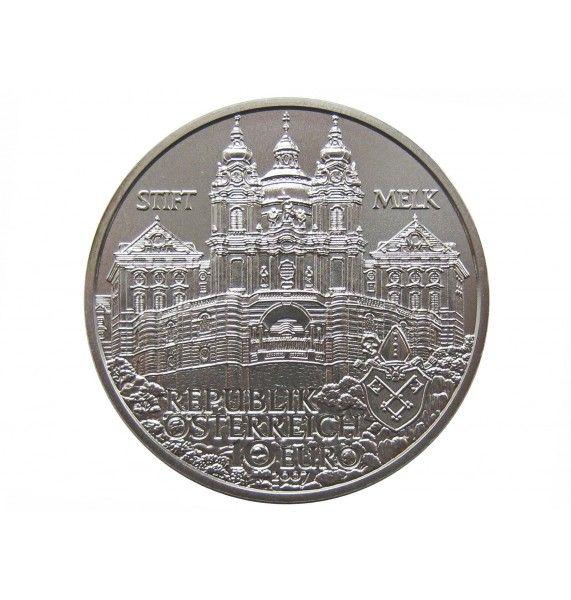 Австрия 10 евро 2007 г. (Аббатство в Мельке)