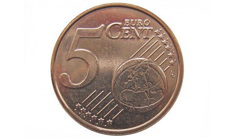Бельгия 5 евро центов 2014 г.