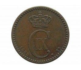 Дания 1 эре 1889 г.