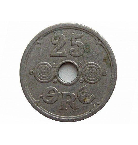 Дания 25 эре 1935 г.