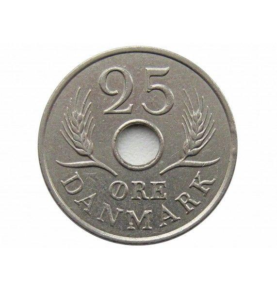 Дания 25 эре 1966 г.