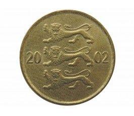 Эстония 10 сенти 2002 г.