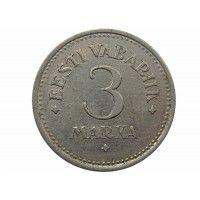 Эстония 3 марки 1922 г.