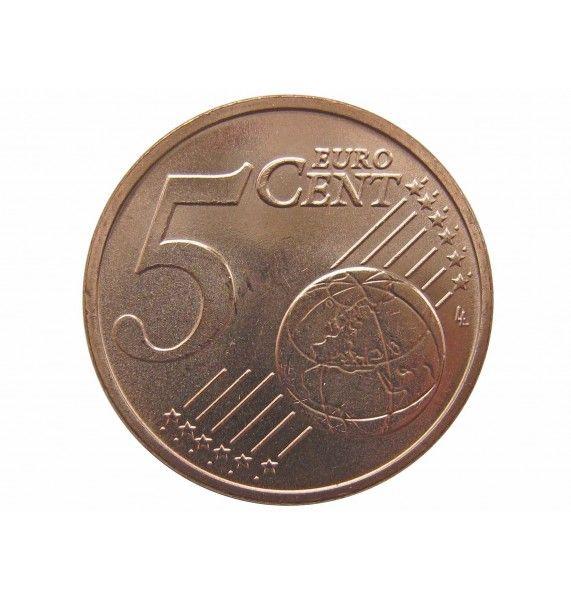 Эстония 5 евро центов 2018 г.