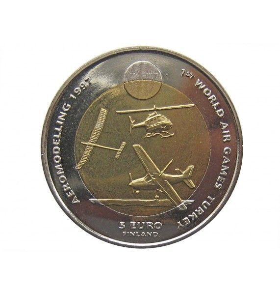 Финляндия 5 евро 1997 г. (Всемирные воздушные игры в Турции)