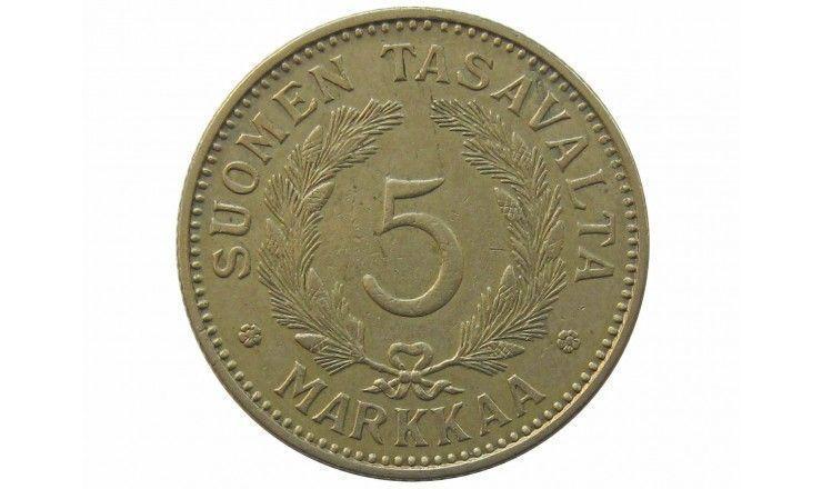 Финляндия 5 марок 1939 г.