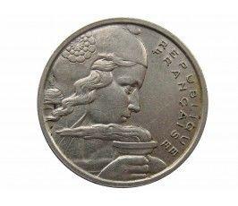 Франция 100 франков 1957 г. B