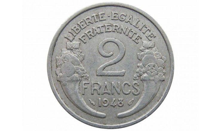 Франция 2 франка 1948 г.