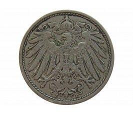 Германия 10 пфеннигов 1908 г. E