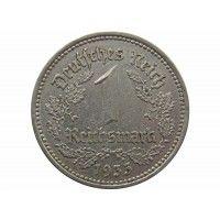 Германия 1 марка 1933 г. A