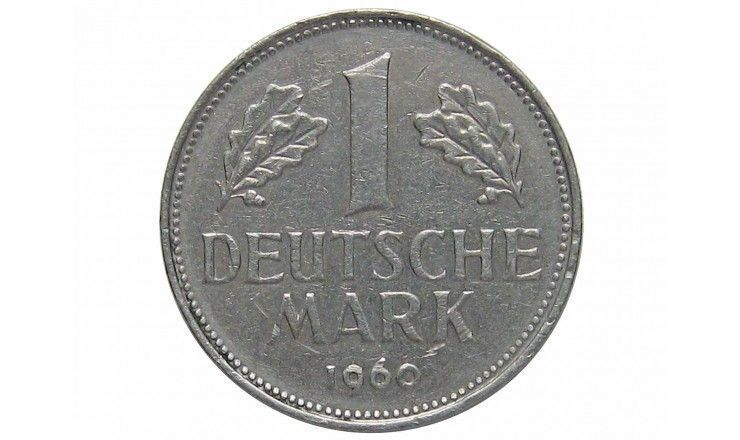 Германия 1 марка 1960 г. J