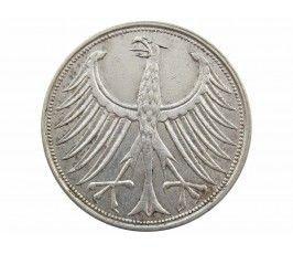 Германия 5 марок 1967 г. J