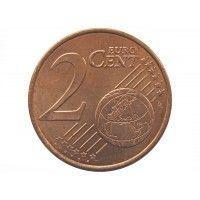 Греция 2 евро цента 2002 г.