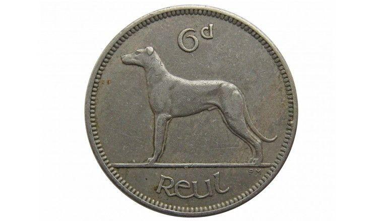 Ирландия 6 пенсов 1952 г.