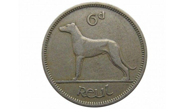 Ирландия 6 пенсов 1955 г.