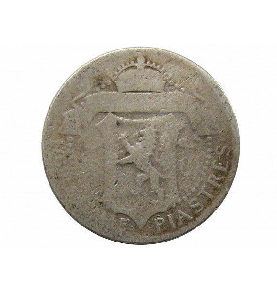 Кипр 4 1/2 пиастра 1901 г.