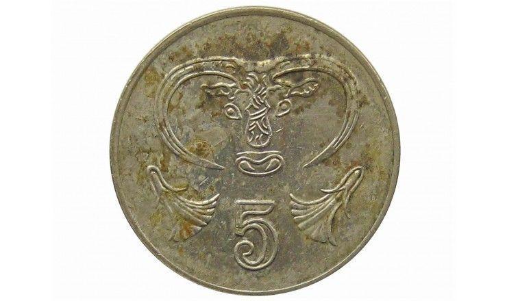 Кипр 5 центов 1994 г.