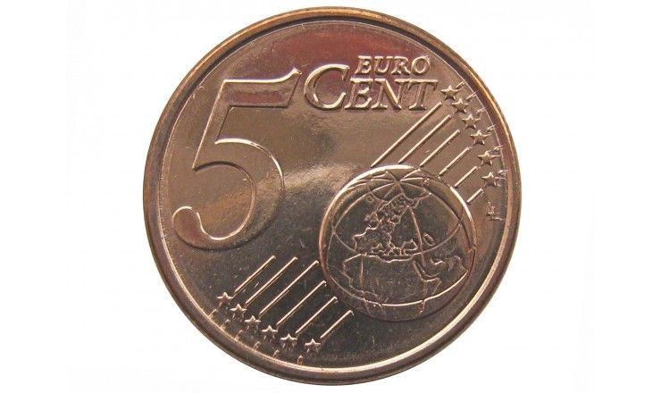 Кипр 5 евро центов 2011 г.