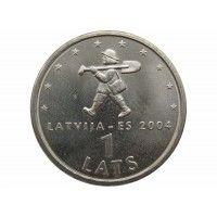 Латвия 1 лат 2004 г. (Спиридитис)
