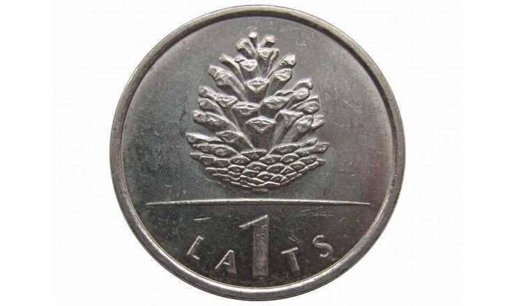Латвия 1 лат 2006 г. (Шишка)