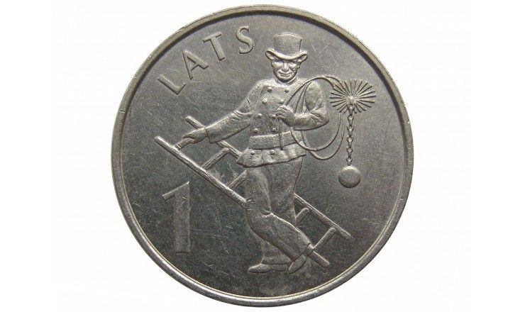 Латвия 1 лат 2008 г. (Трубочист)