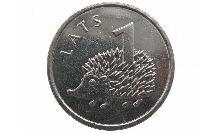 Латвия 1 лат 2012 г. (Ёж)