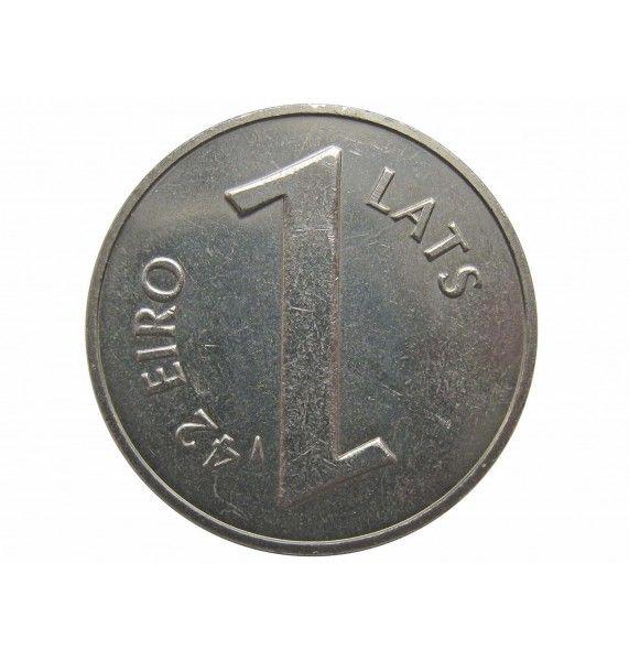 Латвия 1 лат 2013 г. (Паритет валют)