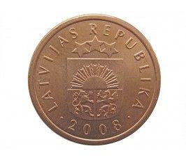 Латвия 1 сантим 2008 г.