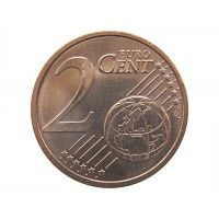 Латвия 2 евро цента 2014 г.