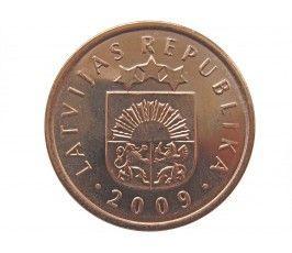 Латвия 2 сантима 2009 г.