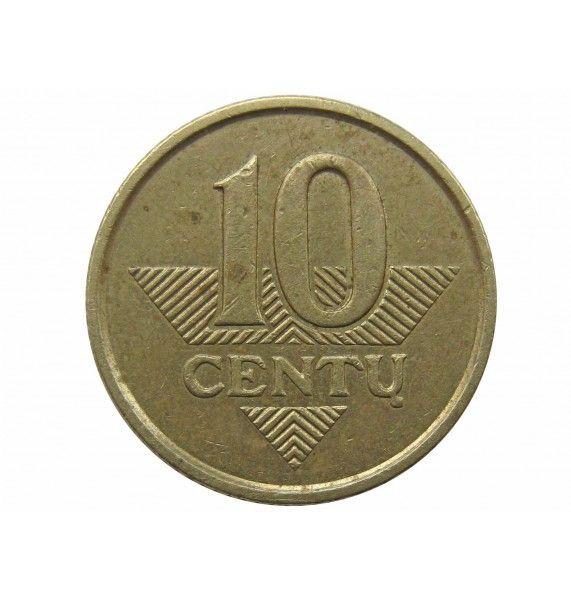 Литва 10 центов 1999 г.