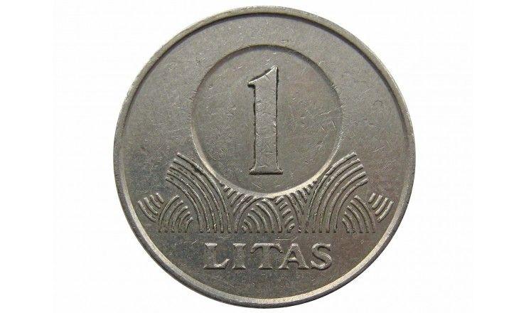Литва 1 лит 2002 г.