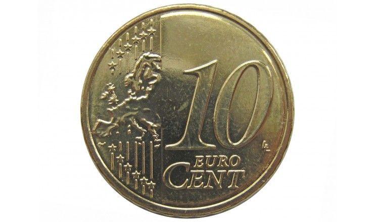 Мальта 10 евро центов 2017 г.