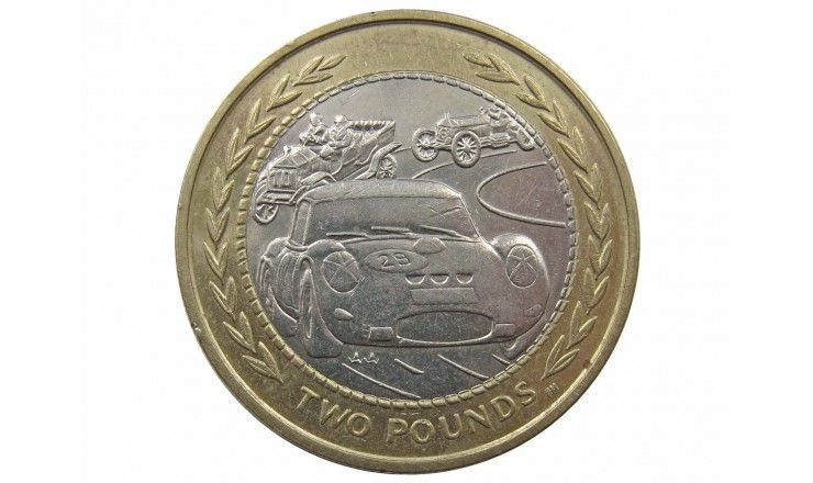 Остров Мэн 2 фунта 1998 г.