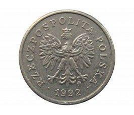 Польша 10 грошей 1992 г.