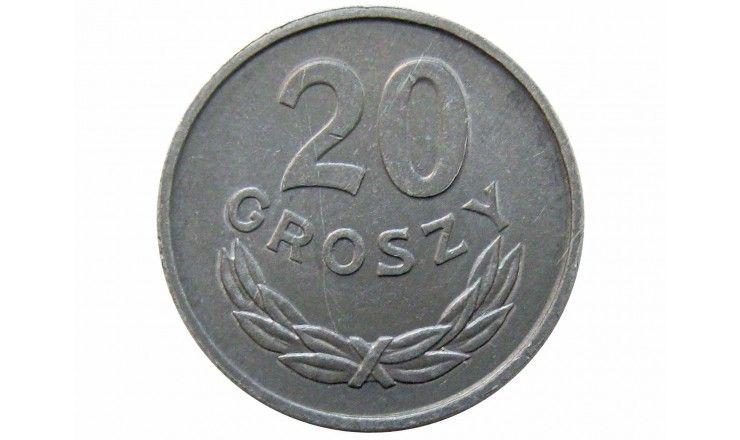 Польша 20 грошей 1966 г.