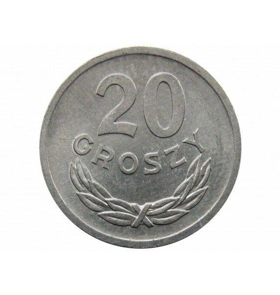 Польша 20 грошей 1971 г.