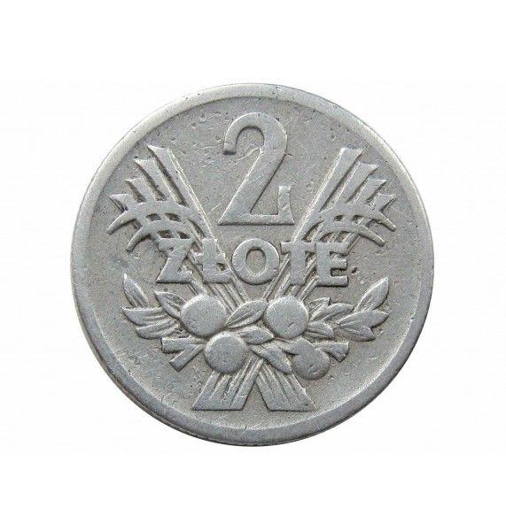 Польша 2 злотых 1958 г.