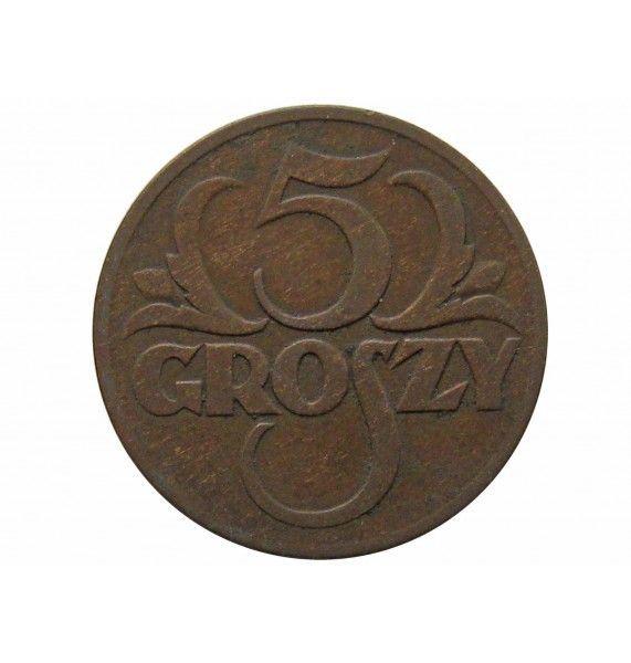 Польша 5 грошей 1931 г.