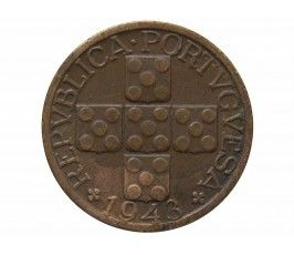 Португалия 20 сентаво 1943 г.